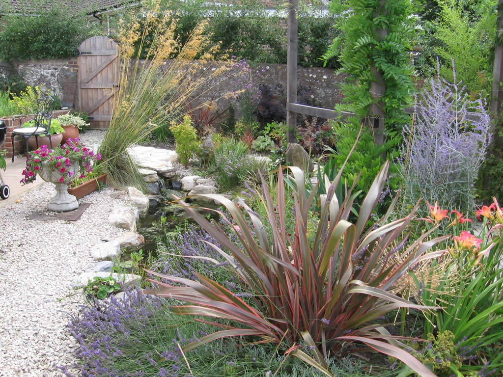 Planting gallery for Plants for around garden ponds